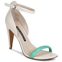 Schoenen Dames Sandalen / Open schoenen French Connection NANETTE Roze / Groen