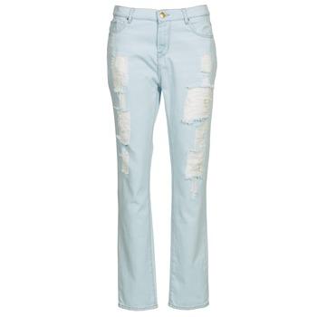 Textiel Dames Straight jeans Cimarron BOY Blauw / Clair