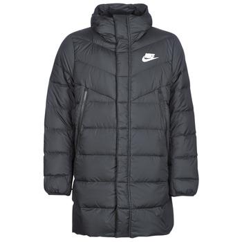 Textiel Heren Dons gevoerde jassen Nike BRENLA Zwart