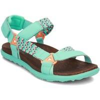 Schoenen Dames Sandalen / Open schoenen Merrell Around Town Sunvue Woven Vert