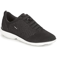 Schoenen Dames Lage sneakers Geox D NEBULA Zwart