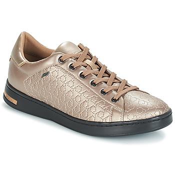 Schoenen Dames Lage sneakers Geox D JAYSEN Beige