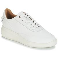Schoenen Dames Lage sneakers Geox D RUBIDIA Wit
