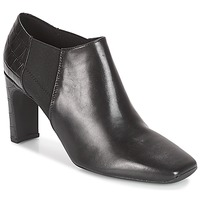 Schoenen Dames Low boots Geox D VIVYANNE HIGH Zwart