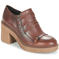 Schoenen Dames Low boots Geox D ADRYA MID Brown