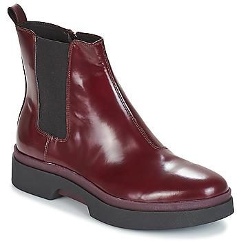 Schoenen Dames Laarzen Geox D MYLUSE Bordeaux