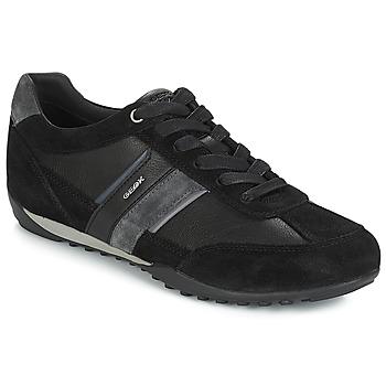 Schoenen Heren Lage sneakers Geox U WELLS Zwart / Marine