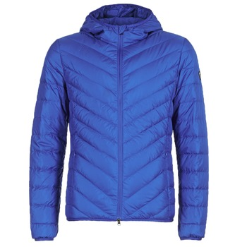 Textiel Heren Dons gevoerde jassen Emporio Armani EA7 TRAIN CORE SHIELD 8NPB09 Blauw / Electrique