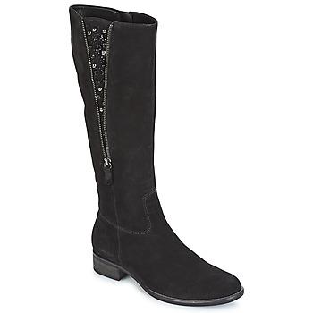Schoenen Dames Hoge laarzen Gabor PARTUS Zwart