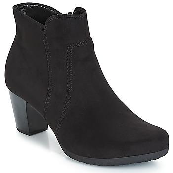 Schoenen Dames Enkellaarzen Gabor KENAT Zwart