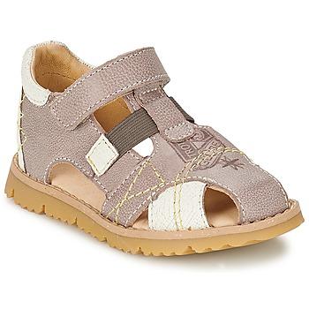 Schoenen Jongens Sandalen / Open schoenen GBB INCAS Brown