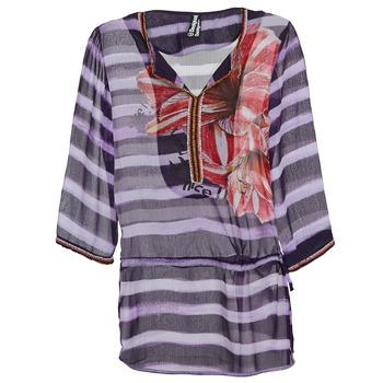 Textiel Dames Tops / Blousjes Desigual ALONDRA Multikleuren