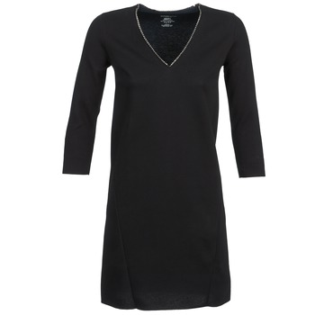 Textiel Dames Korte jurken Majestic BRUNEHILDE Zwart