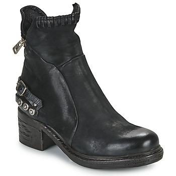 Schoenen Dames Laarzen Airstep / A.S.98 NOVA 17 Zwart