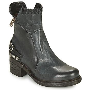 Schoenen Dames Laarzen Airstep / A.S.98 NOVA 17 Blauw / Zwart