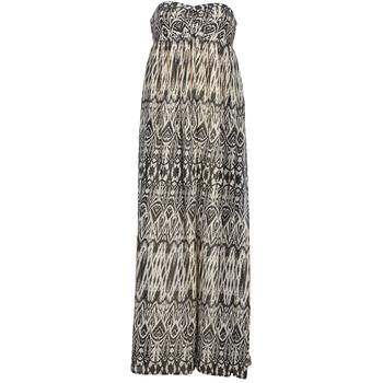 Textiel Dames Lange jurken Le Temps des Cerises GOTA Grijs / Wit