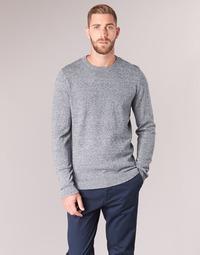 Textiel Heren Truien Jack & Jones JJEBASIC Blauw