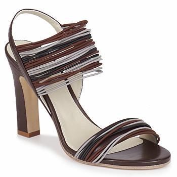 Schoenen Dames Sandalen / Open schoenen Jil Sander JS16121 Brown