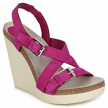 Schoenen Dames Sandalen / Open schoenen Jil Sander JS16295 Roze