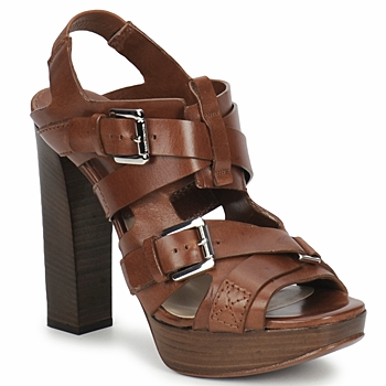 Schoenen Dames Sandalen / Open schoenen Michael Kors MOWAI Brown