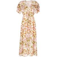 Textiel Dames Lange jurken Derhy ALEXANDRIN Ecru