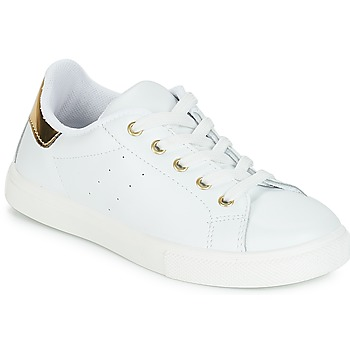 Schoenen Meisjes Lage sneakers André TAMARA Wit