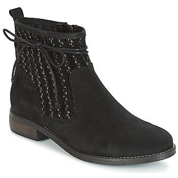 Schoenen Dames Laarzen André MEXICA Zwart