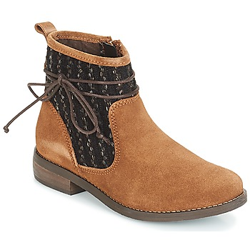 Schoenen Dames Laarzen André MEXICA Brown