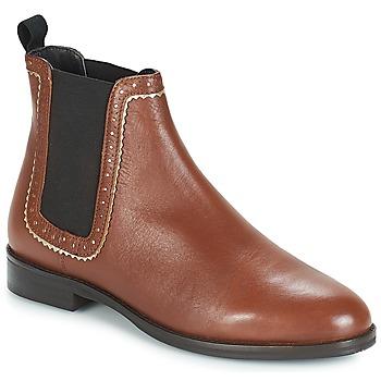Schoenen Dames Laarzen André CARLOTA Brown