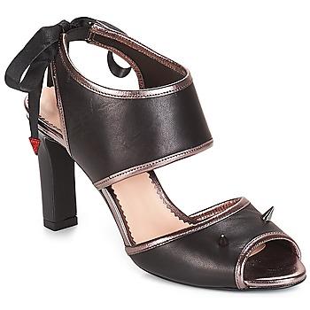 Schoenen Dames Sandalen / Open schoenen André NEVERLAND Zwart