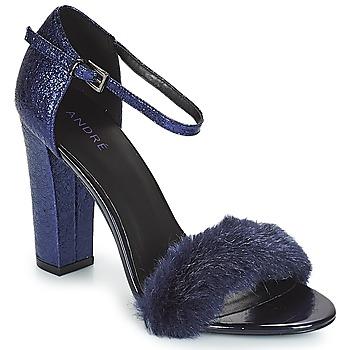Schoenen Dames Sandalen / Open schoenen André WANDA Marine