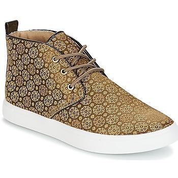 Schoenen Dames Hoge sneakers André EMPEREUR Kaki