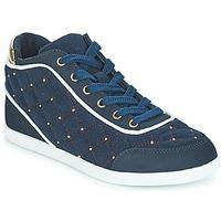 Schoenen Dames Hoge sneakers André KINGDOM Blauw