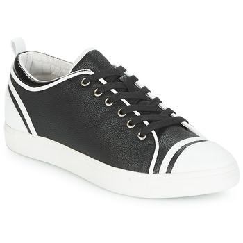 Schoenen Dames Lage sneakers André LEANE Zwart / Wit