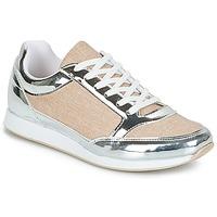 Schoenen Dames Lage sneakers André SAFARI Zilver