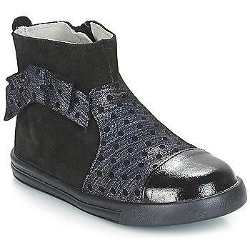 Schoenen Meisjes Laarzen André NUIT Zwart