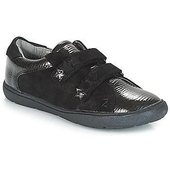 Schoenen Meisjes Lage sneakers André HALEY Zwart