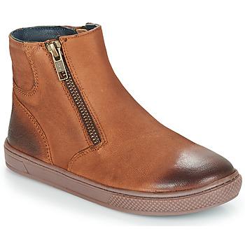 Schoenen Jongens Laarzen André CUMIN Brown
