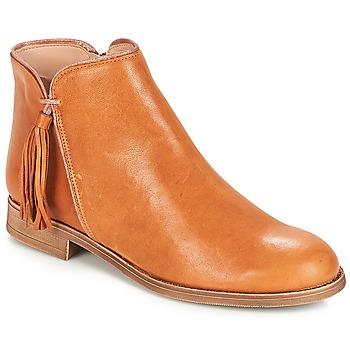 Schoenen Dames Laarzen André PAOLINE Brown