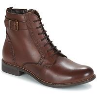 Schoenen Dames Laarzen André CHEPTELA Brown