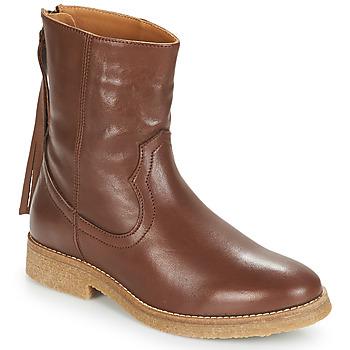 Schoenen Dames Laarzen André THEO Brown
