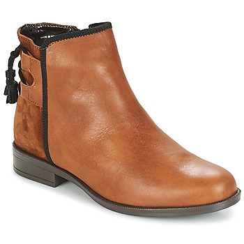 Schoenen Dames Laarzen André TITOL Brown