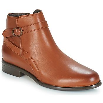 Schoenen Dames Laarzen André TACOS Brown