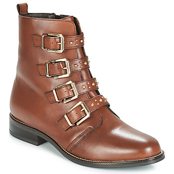 Schoenen Dames Laarzen André TODAY Brown