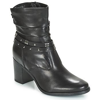Schoenen Dames Laarzen André TOCSIN Zwart