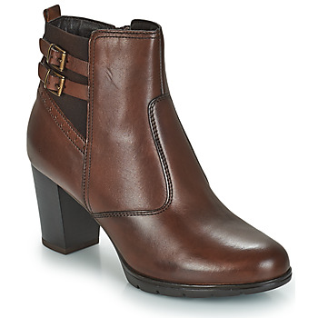 Schoenen Dames Laarzen André CARACAL Brown