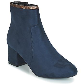 Schoenen Dames Laarzen André FALOU Blauw
