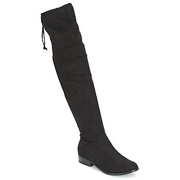 Schoenen Dames Hoge laarzen André MARGOT Zwart
