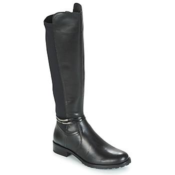 Schoenen Dames Hoge laarzen André CALECARA Zwart