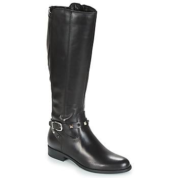 Schoenen Dames Hoge laarzen André TESS Zwart